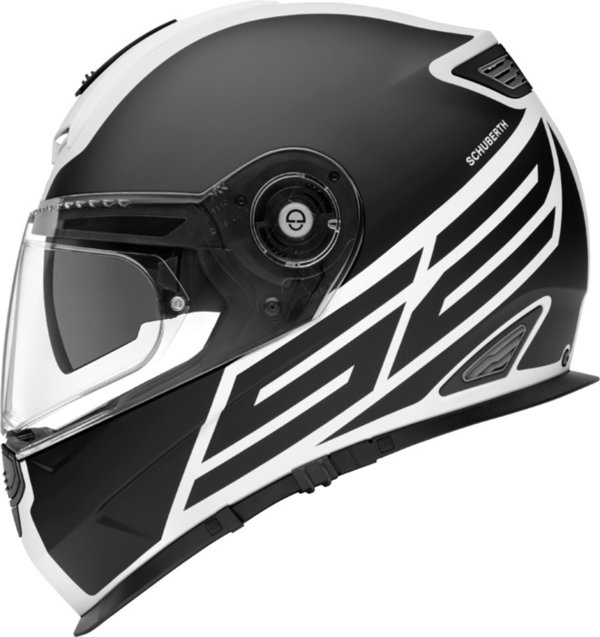 Schuberth Helm S2 Sport Traction white black matt - UVP 579,00 Euro