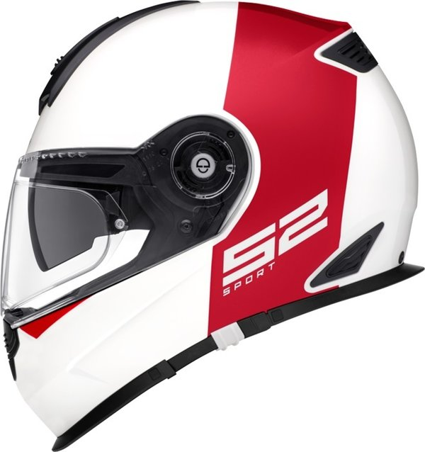 Schuberth Helm S2 Sport Redux red white - UVP 579,00 Euro